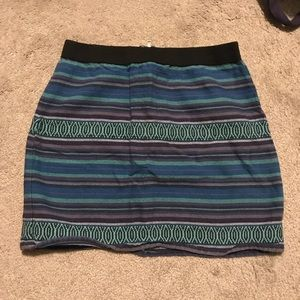 American Eagle Patterned Skirt